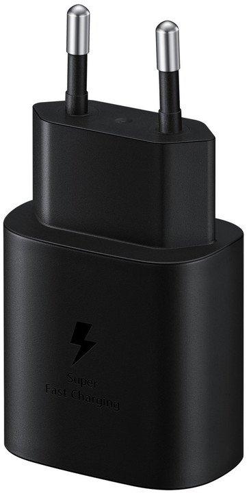 Cestovní nabíječka Samsung Quickcharge EP-TA800XWE 25W černá