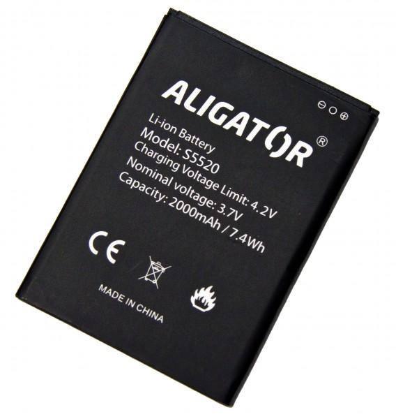 Baterie ALIGATOR S5520 Duo, Li-Ion, originální