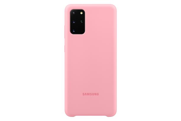 Ochranný kryt Silicone Cover pro Samsung Galaxy S20 plus, růžová