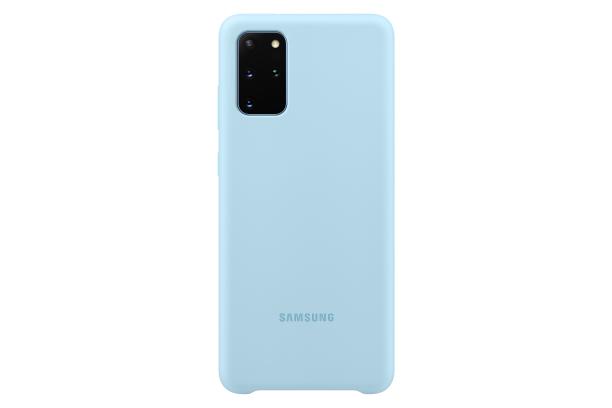 Ochranný kryt Silicone Cover pro Samsung Galaxy S20 plus, modrá
