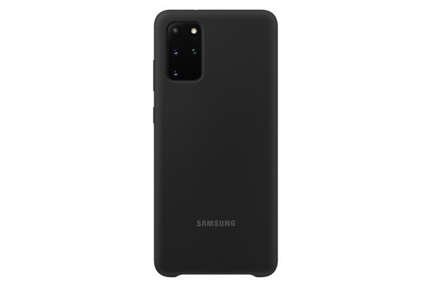 Ochranný kryt Silicone Cover pro Samsung Galaxy S20 plus, černá