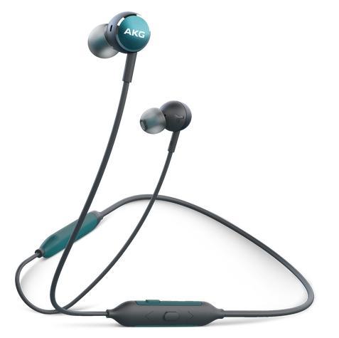 Bezdrátová sluchátka Samsung AKG Y100 zelená