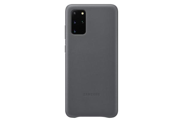 Ochranný kryt Leather Cover pro Samsung Galaxy S20 plus, šedá