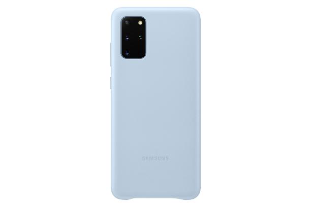 Ochranný kryt Leather Cover pro Samsung Galaxy S20 plus, modrá