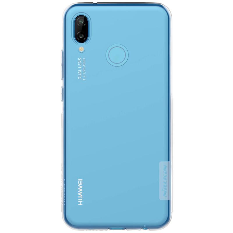 Silikonové pouzdro Nillkin Nature pro Huawei P20 Lite, transparent