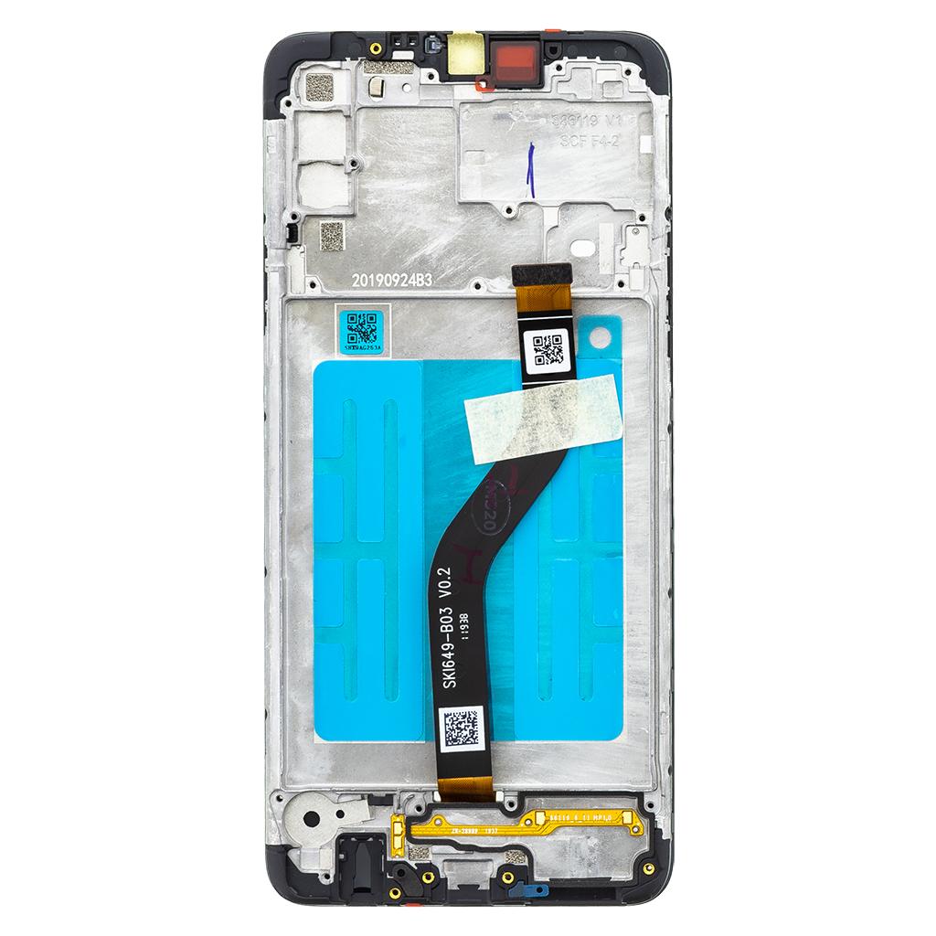LCD + dotyková deska pro Samsung Galaxy A20s, black (Service Pack)