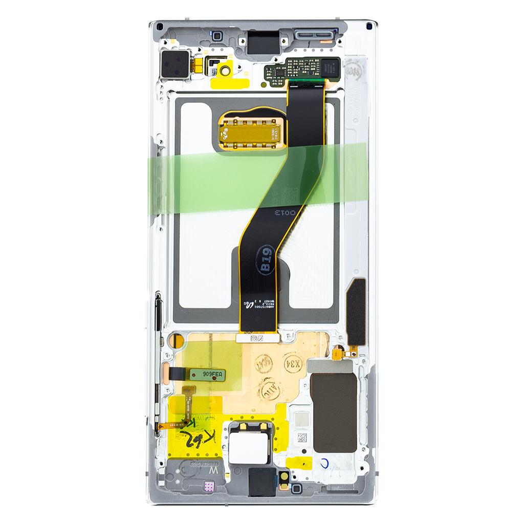 LCD + dotyková deska pro Samsung Galaxy Note 10+, white ( Service Pack)