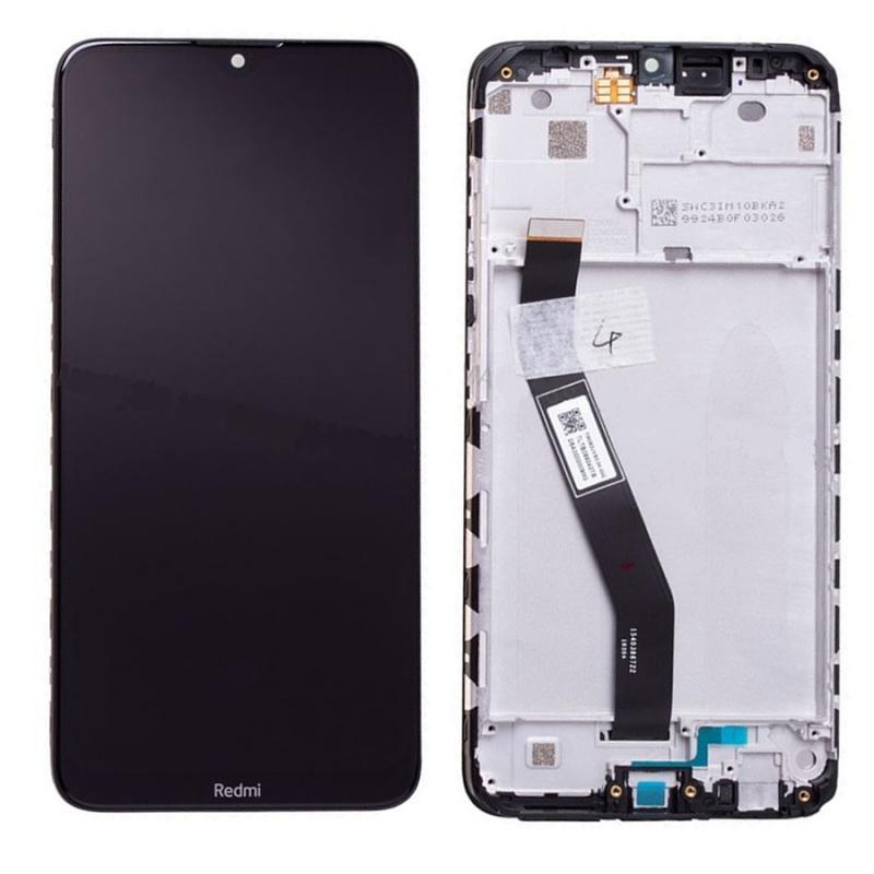 LCD + dotyk + rámeček pro Xiaomi Redmi 8, black