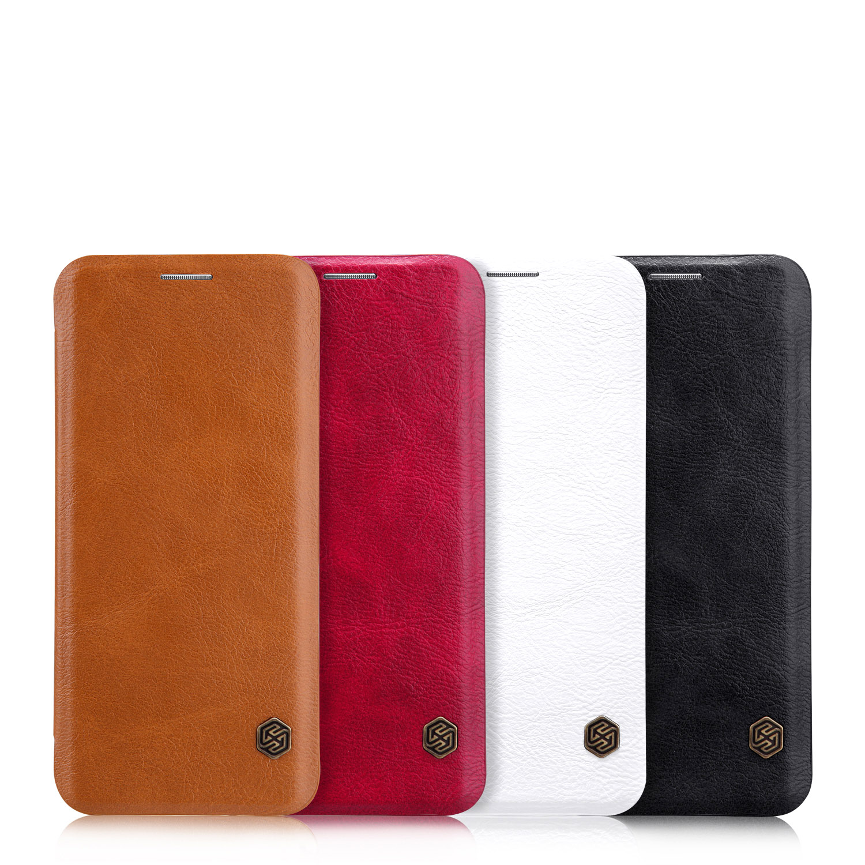 Flipové pouzdro Nillkin Qin Book pro Samsung Galaxy A41, černá