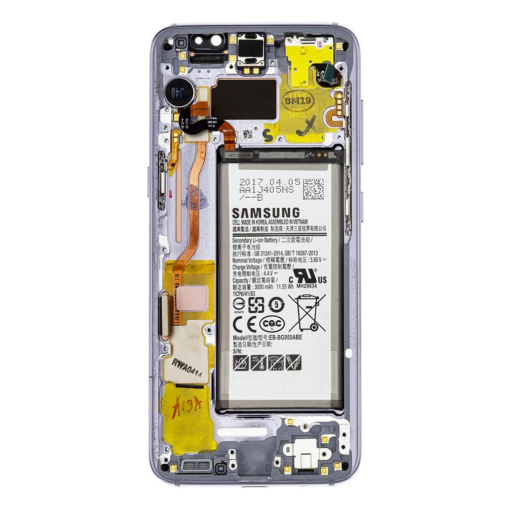 LCD + dotyková deska pro Samsung Galaxy S8, violet