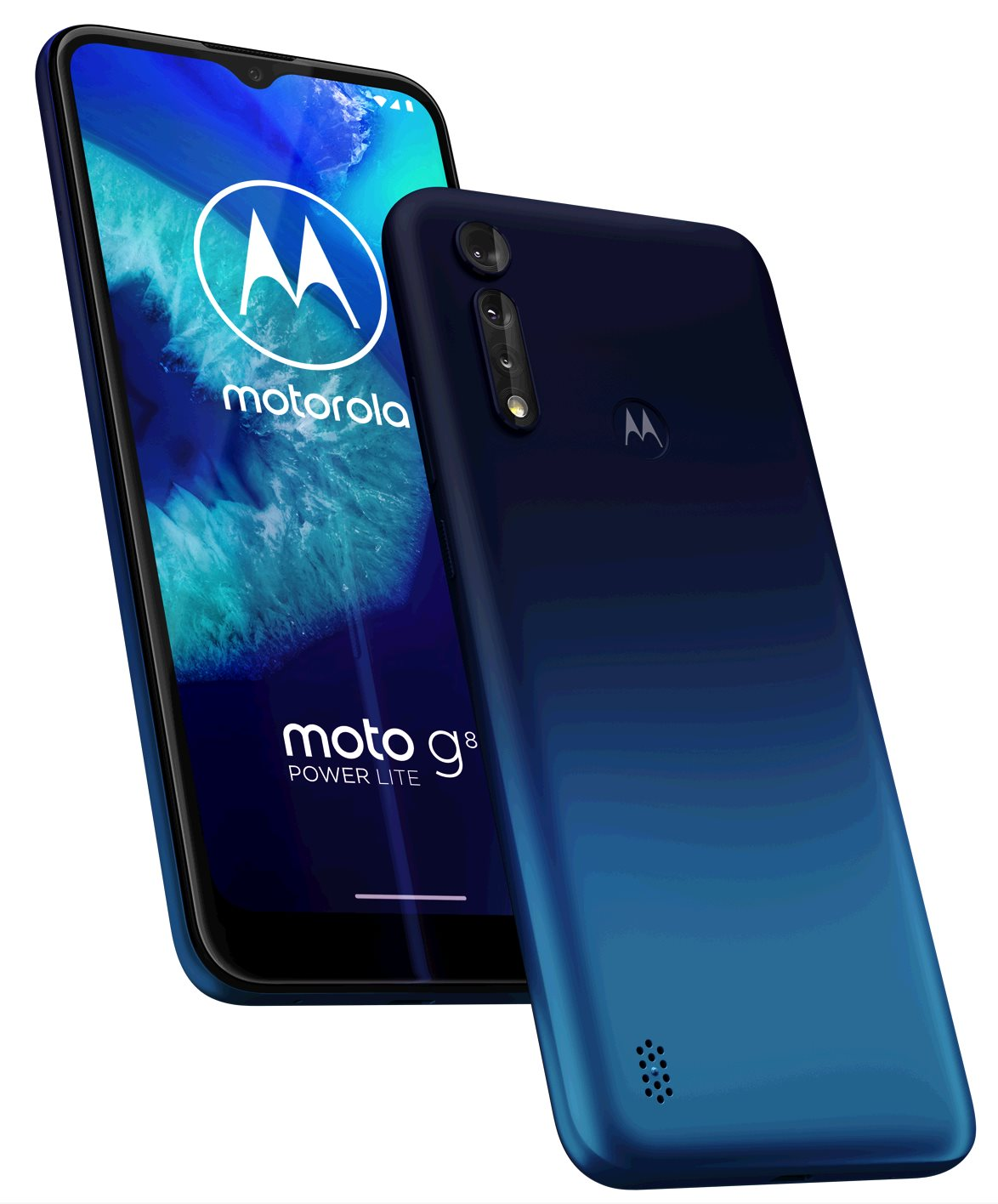 Motorola Moto G8 Power Lite 4+64GB DS gsm tel. Royal Blue