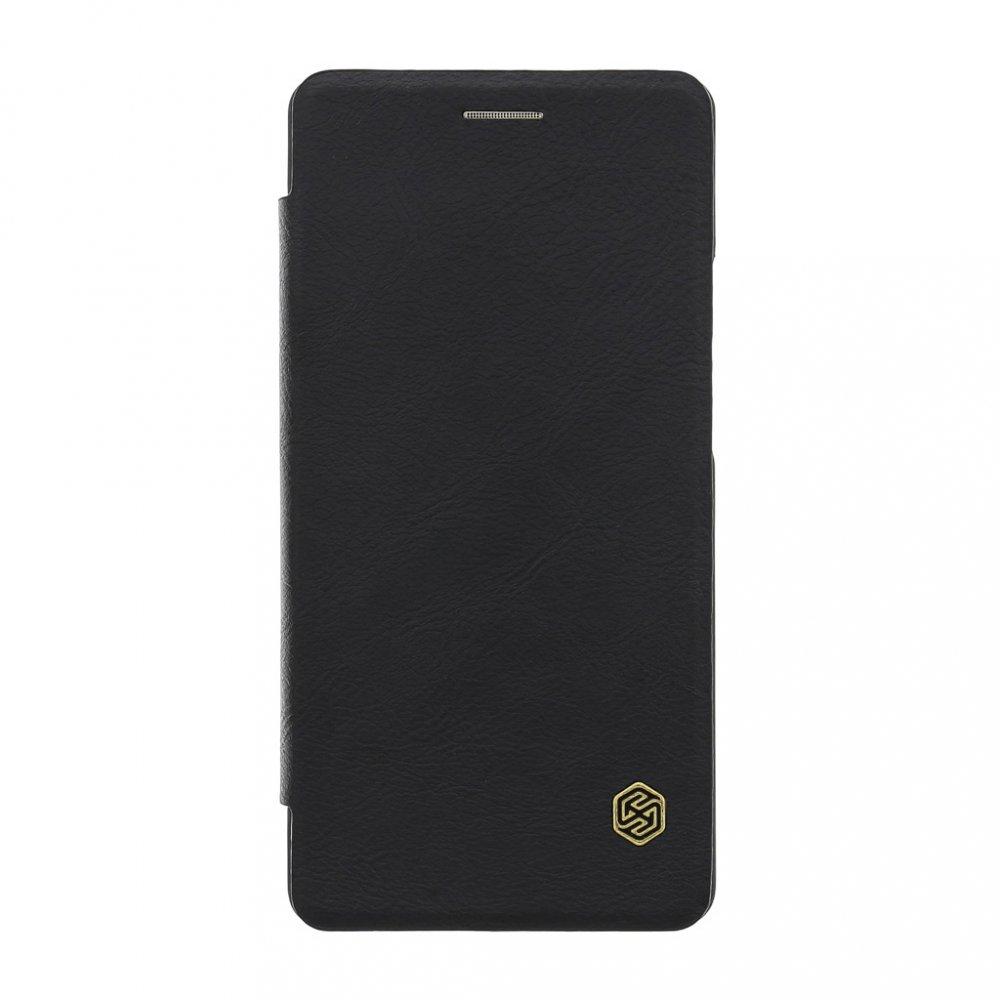 Flipové pouzdro Nillkin Qin Book pro Xiaomi Redmi Note 9 Pro/Note 9s, černá