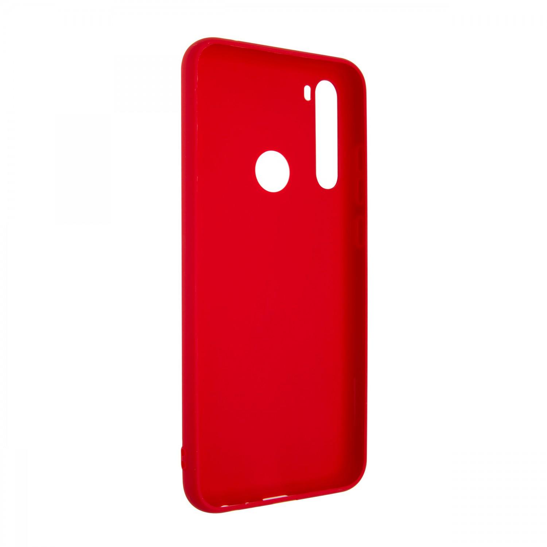 Zadní kryt FIXED Story pro Xiaomi Redmi Note 8T, červená