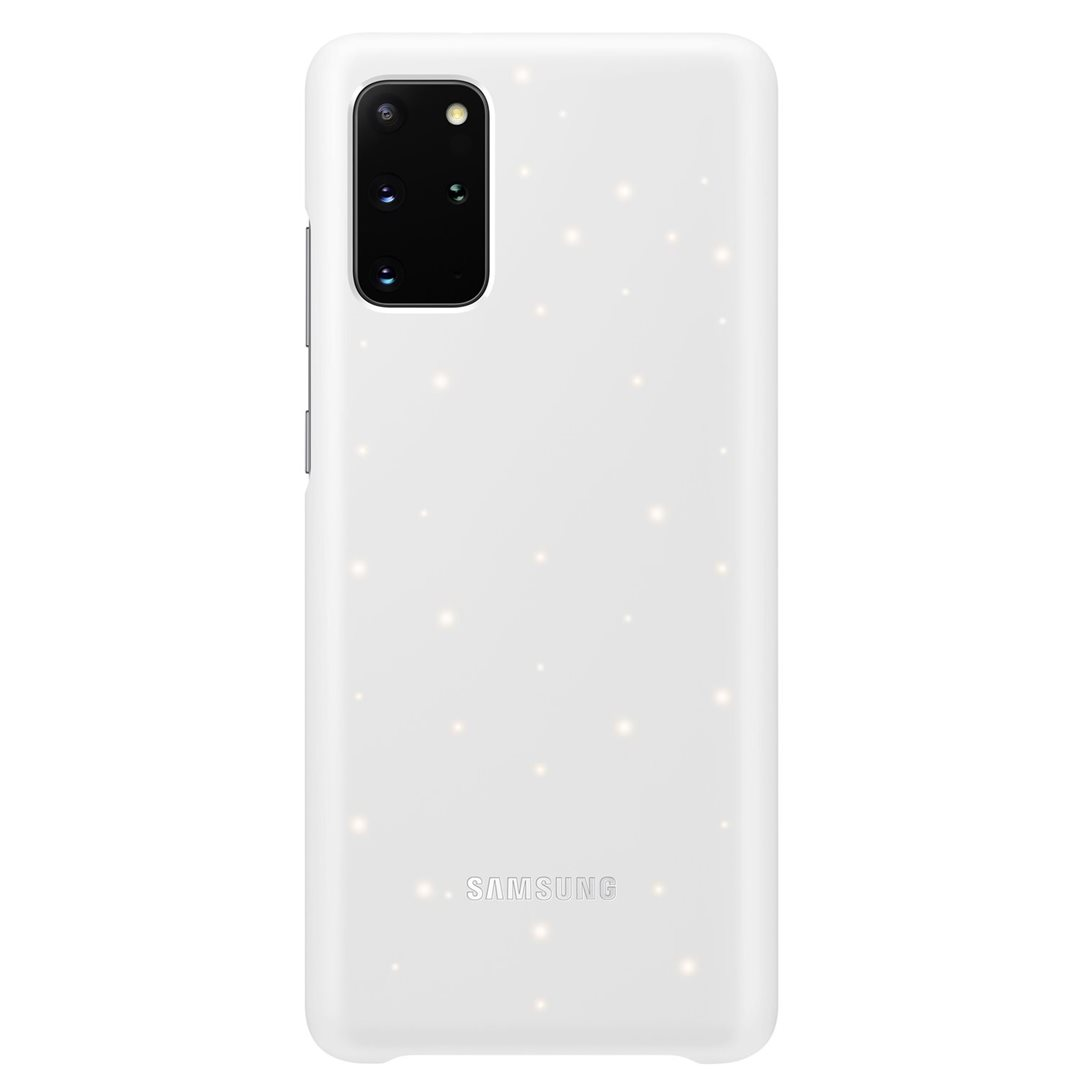 Levně EF-KG985CWE Samsung LED kryt pro Galaxy S20+, white