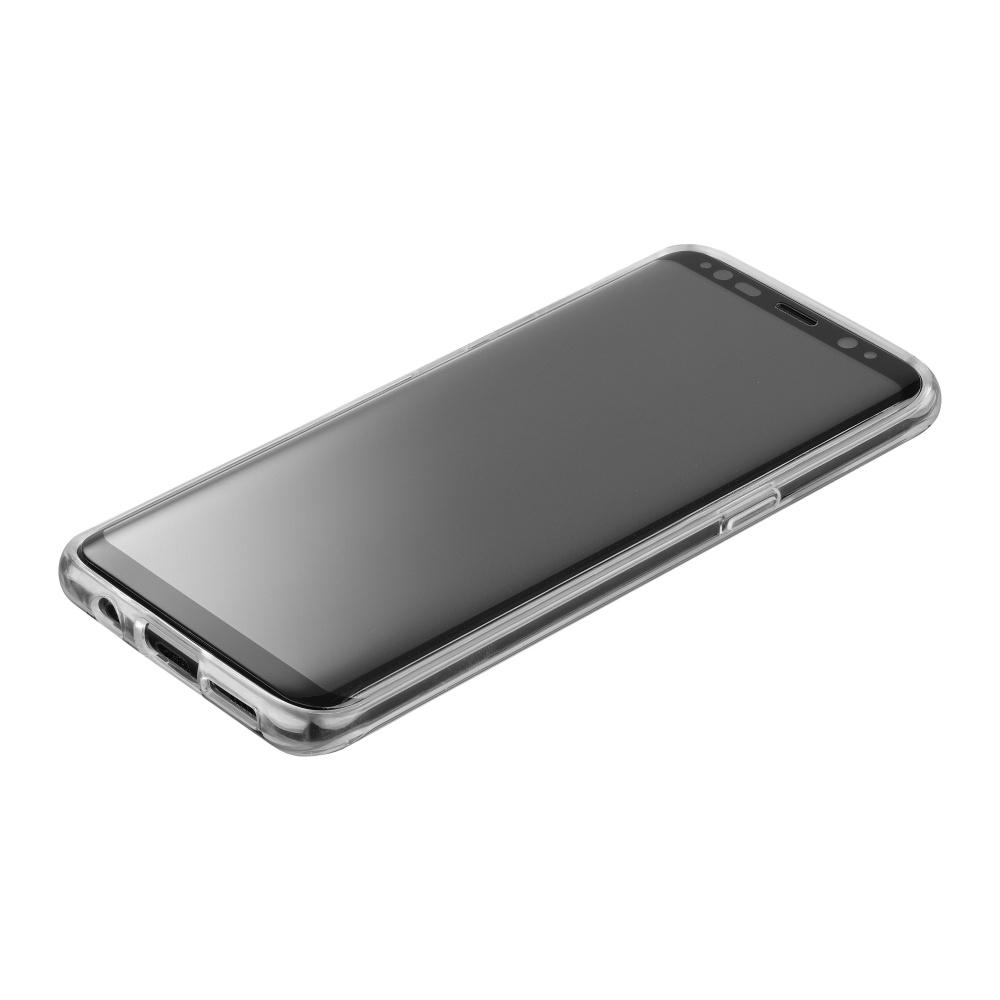 Ochranné tvrzené sklo pro Cellularline Glass pro Samsung Galaxy S8+, černá