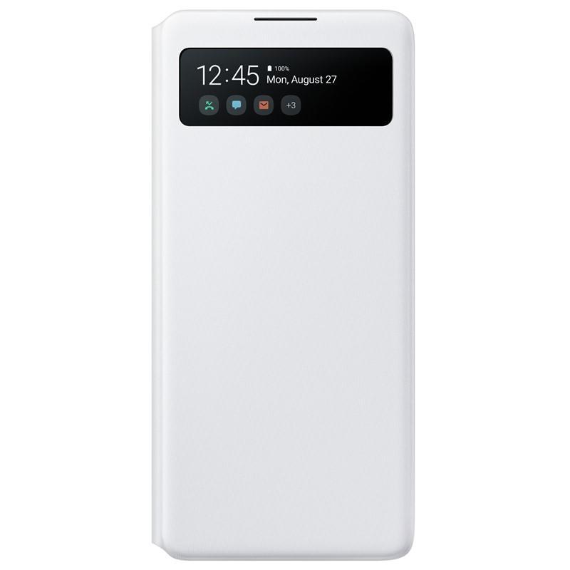 Samsung S-View flipové pouzdro EF-EN770PWE Samsung Galaxy Note 10 Lite white