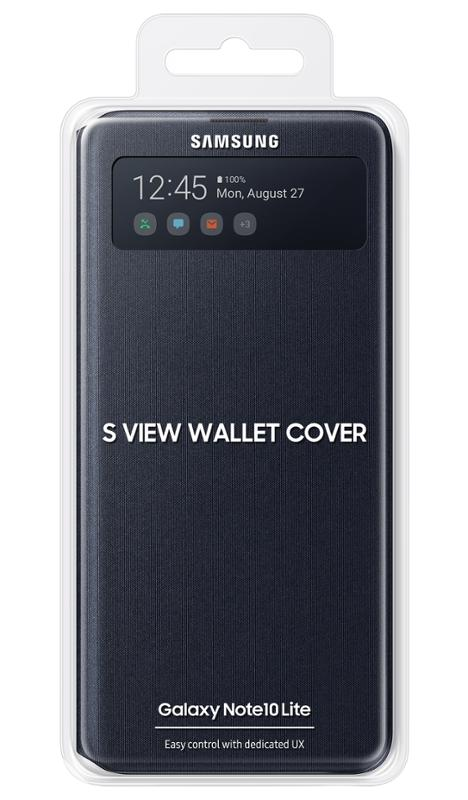 Samsung S-View flipové pouzdro EF-EN770PBE Samsung Galaxy Note 10 Lite black