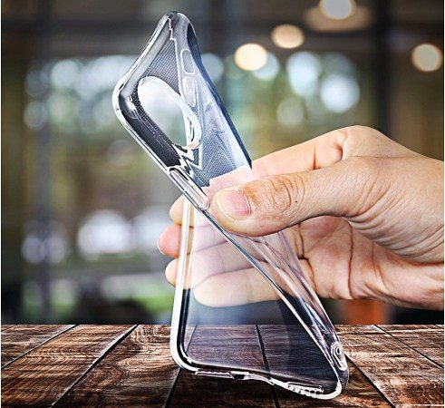 Silikonové pouzdro CLEAR Case 2mm pro Apple iPhone XS Max