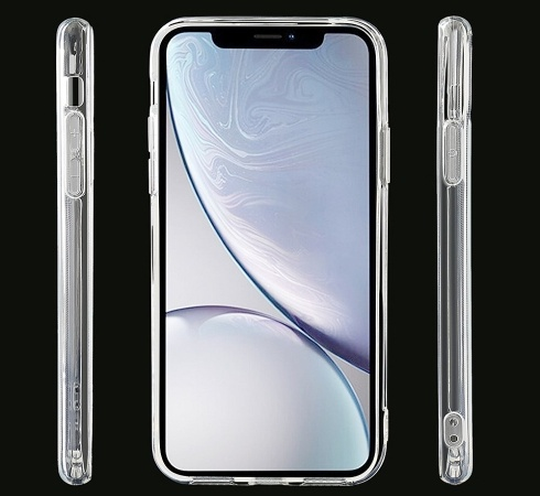 Silikonové pouzdro CLEAR Case 2mm pro Apple iPhone X, XS