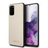 Guess Iridescent zadní kryt GUHCS67IGLGO pro Samsung Galaxy S20+ gold