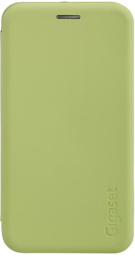 Originální flipové pouzdro Gigaset GS100 zelené