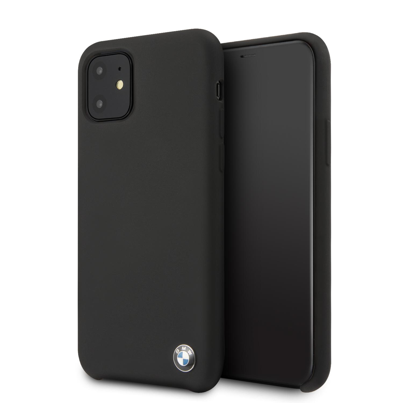BMW Signature silikonový kryt BMHCN61SILBK pro Apple iPhone 11 black