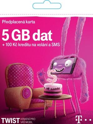 T-Mobile TWIST s námi 5GB