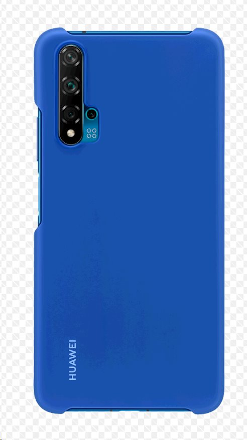 Huawei Original ochranný kryt pro Huawei Nova 5T blue