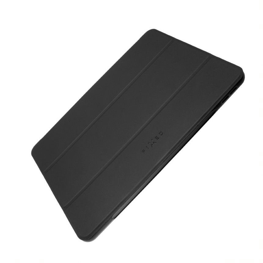 FIXED Padcover flipové pouzdro Apple iPad (2018)/ iPad (2017)/Air, temné šedé