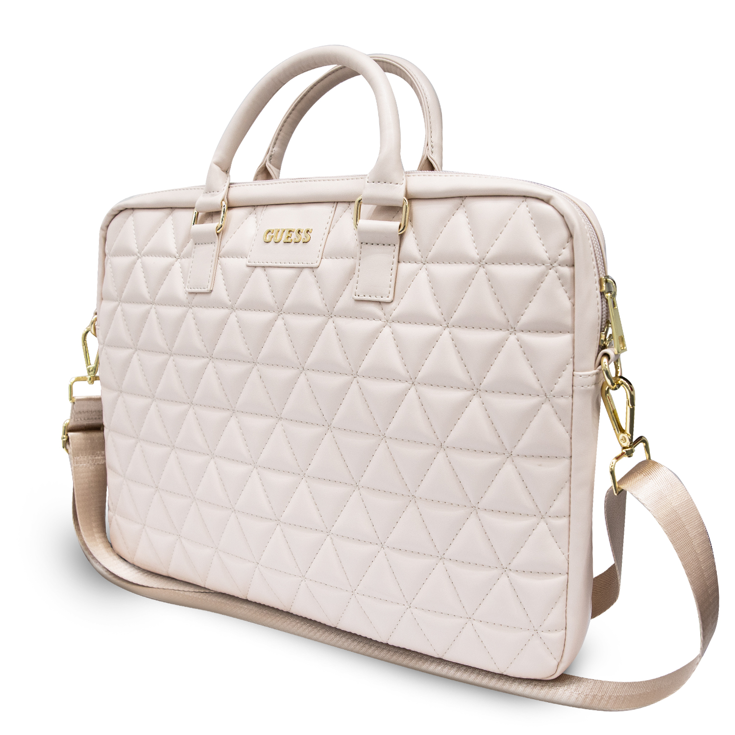 """Guess Quilted obal GUCB15QLPK pro notebook 15"""" pink Obal pro Notebook 15"""" Pink"""