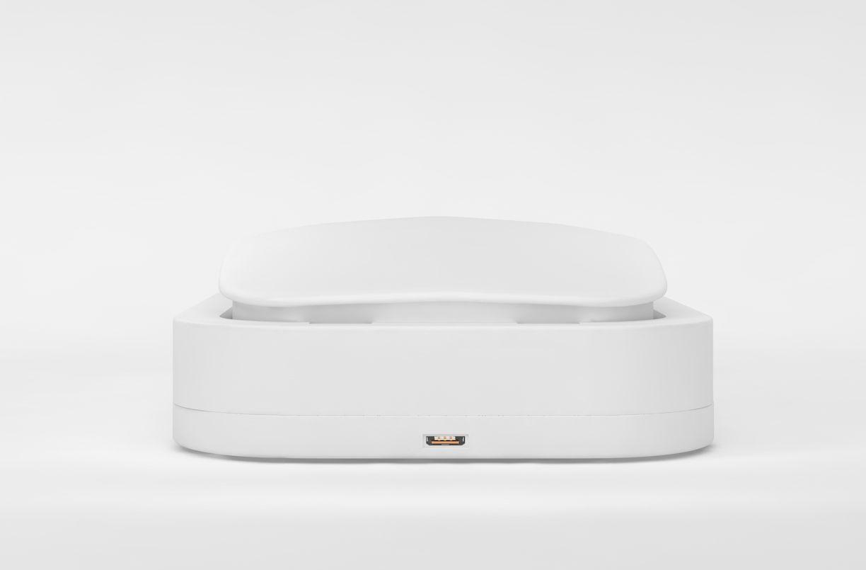 FIXED UV sterilizér pro mobilní telefony s nabíjením, bílý