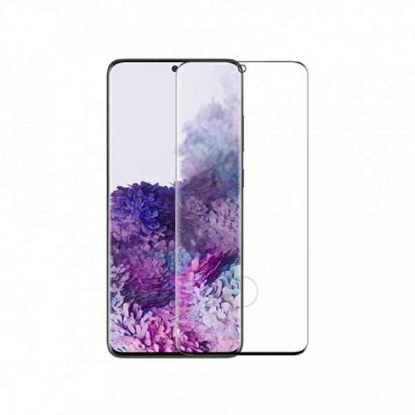 Tvrzené sklo GLASS FULL pro Samsung Galaxy S20, černá