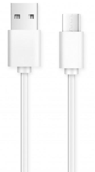 Datový kabel USB typ C 2A, bílá