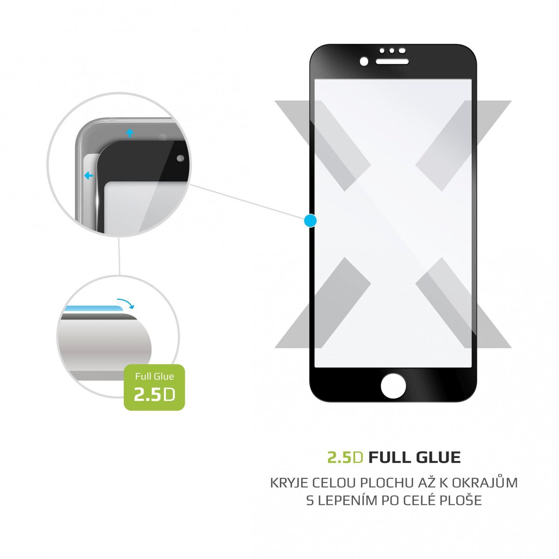 Ochranné tvrzené sklo FIXED Full-Cover pro Apple iPhone 7/8/SE (2020), černá