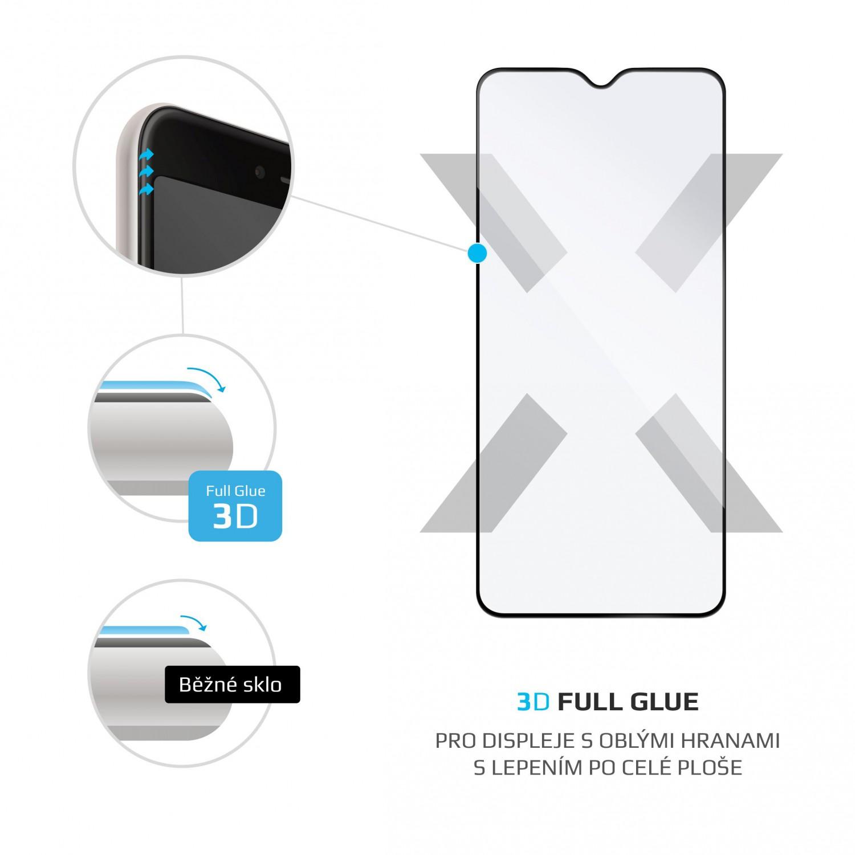 Ochranné tvrzené sklo FIXED 3D Full-Cover pro Xiaomi Redmi Note 8T, černá
