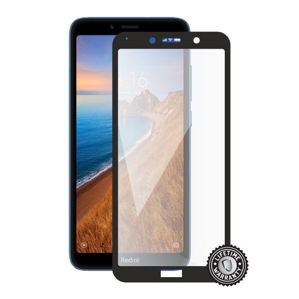 Screenshield tvrzené sklo pro Xiaomi Redmi 7A protection full COVER, černá