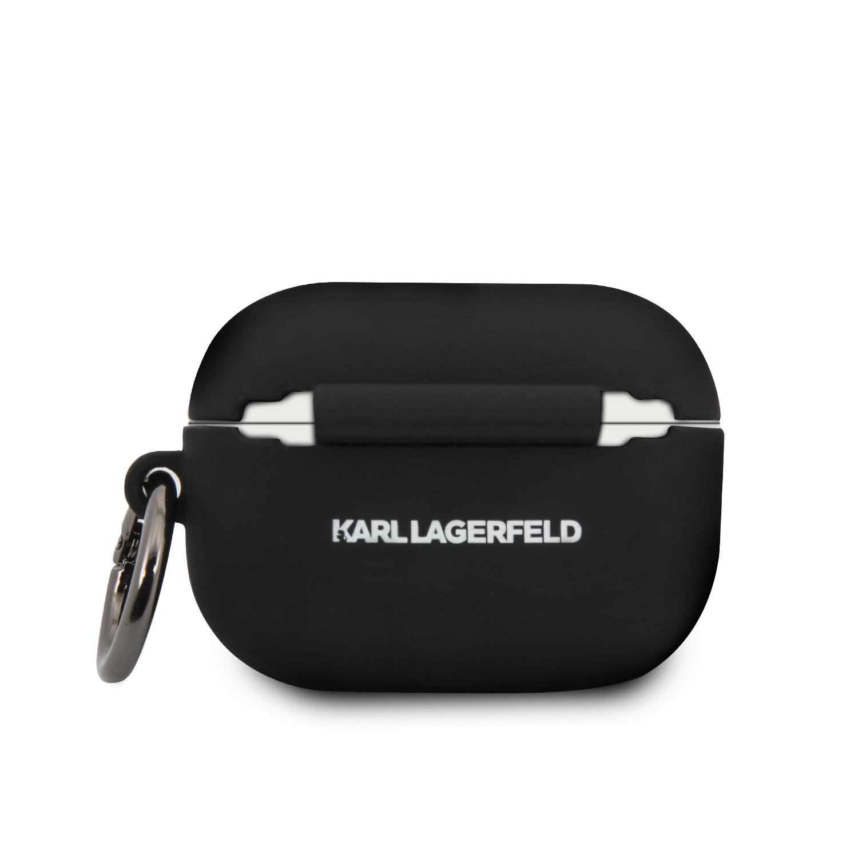 Karl Lagerfeld silikonový kryt pro Apple Airpods Pro black