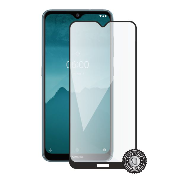 Screenshield tvrzené sklo pro Nokia 6.2 (2019) protection full COVER, černá