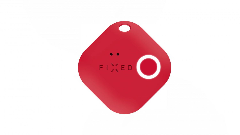 Smart tracker FIXED Smile s motion senzorem, 6-PACK, černý, šedý, červený, modrý, zelený, růžový