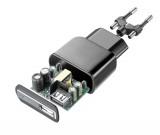 Síťová USB nabíječka Cellularline, 10W/2A, černá