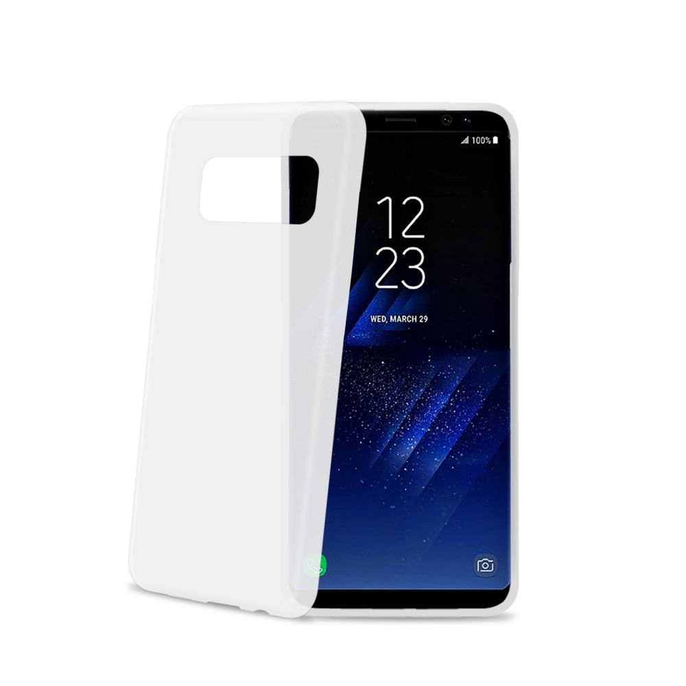 CELLY Frost silikonové pouzdro pro Samsung Galaxy S8 Plus, bílé