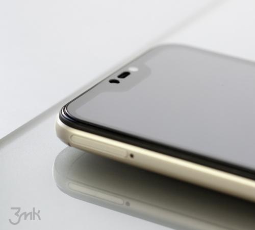 Tvrzené sklo 3mk HardGlass Max Lite pro Samsung Galaxy A71, černá