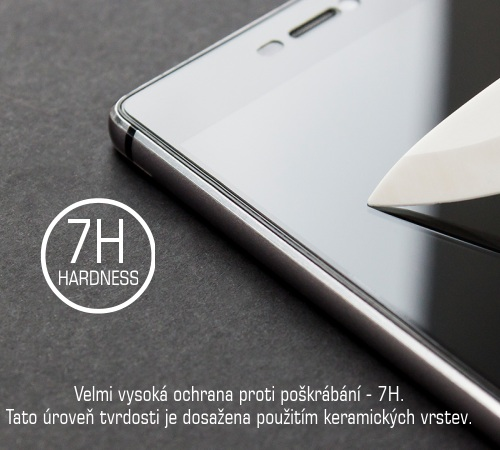 Tvrzené sklo 3mk FlexibleGlass pro Apple iPhone SE (2020), transparentní