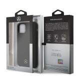 Mercedes Liquid silikonový kryt MEHCN61SILBK na Apple iPhone 11 Pro black