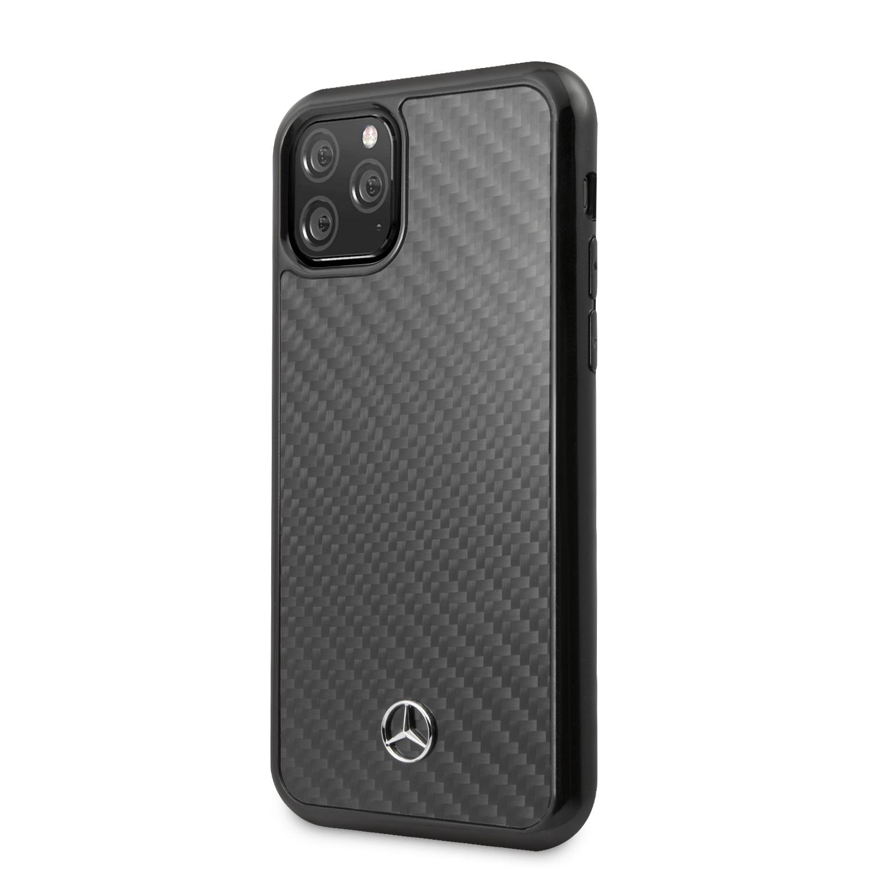 Dynamic Real Carbon Zadní Kryt pro iPhone 11 Pro Max Black
