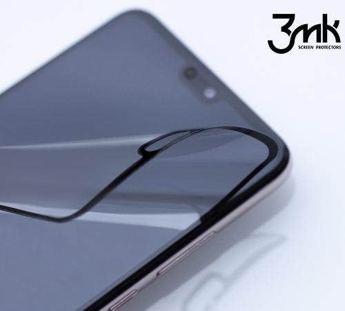 Tvrzené sklo 3mk FlexibleGlass Max pro Apple iPhone SE (2020), černá