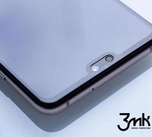 Tvrzené sklo 3mk FlexibleGlass Max pro Huawei P Smart 2019, černá
