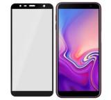 Tvrzené sklo 3mk FlexibleGlass Max pro Samsung Galaxy J4 Plus, černá