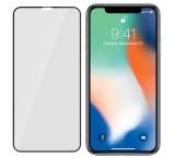 Tvrzené sklo 3mk FlexibleGlass Max pro Apple iPhone XS Max, černá