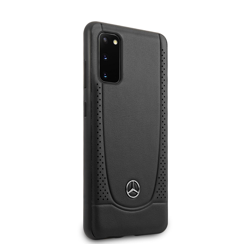 Mercedes Perforation zadní kryt MEHCS62ARMBK pro Samsung Galaxy S20 black